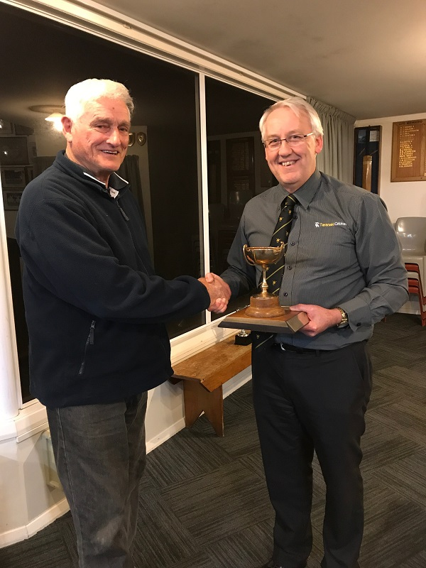 Trophies awarded at AGM
