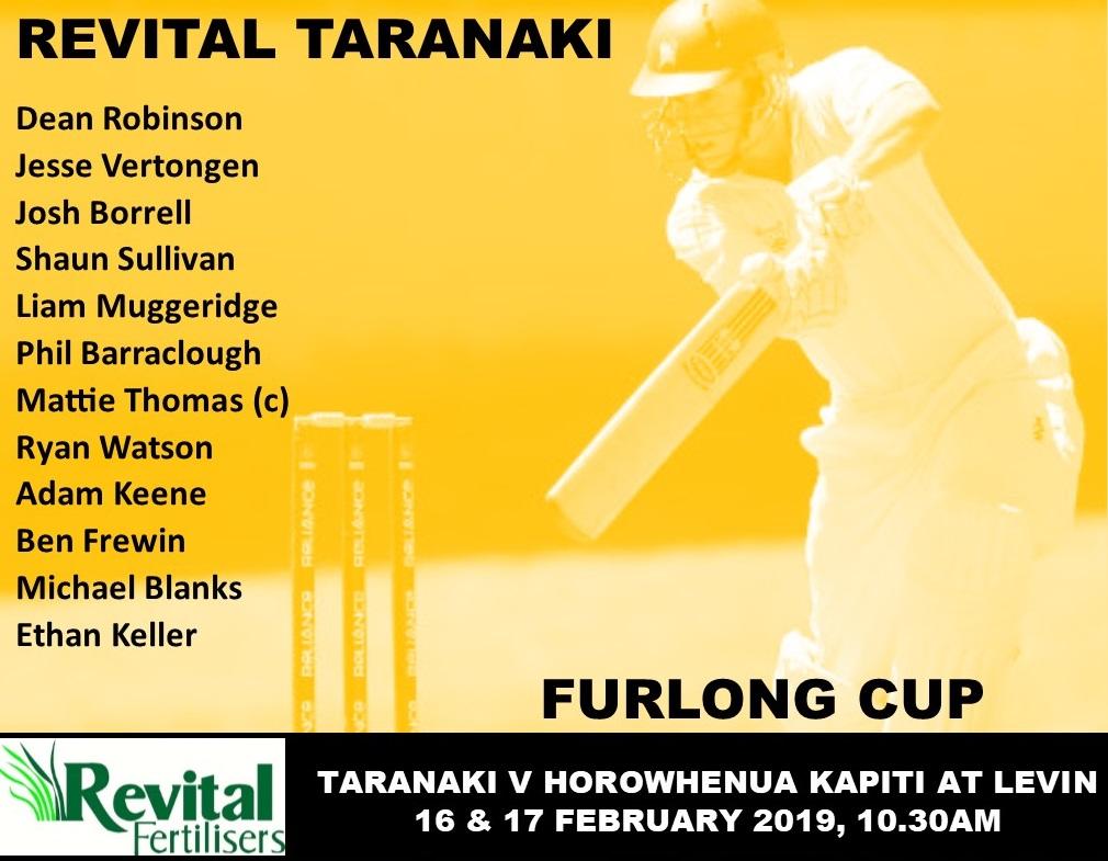 REVITAL TARANAKI FINAL ROUND OF FURLONG CUP